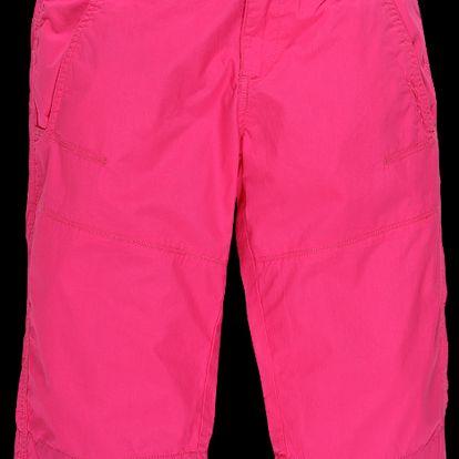 Dámské 3/4 kalhoty kalhoty moderního střihu - růžová tmavá