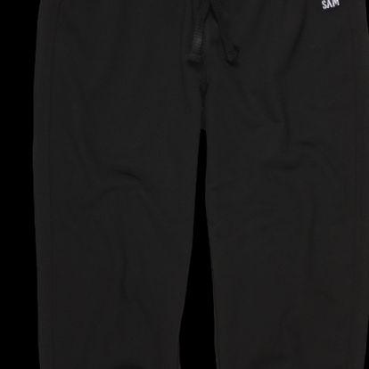 Dámské ¾ kalhoty sportovního střihu, černá