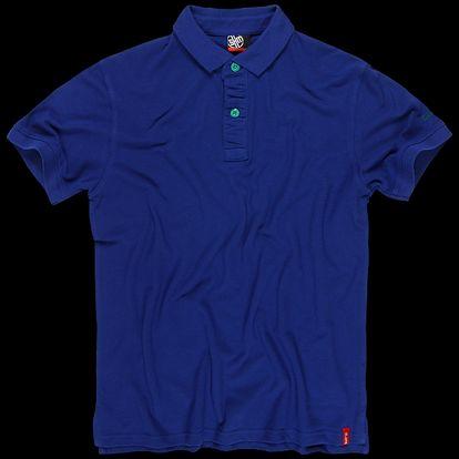 SAM 73 Pánské triko MT 364 235 - modrá kobaltová