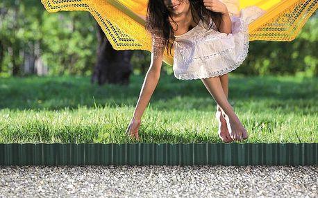 Zahradní obrubník - barva zelená