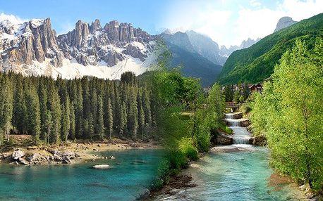 Dovolená Itálie Trentino za akční cenu