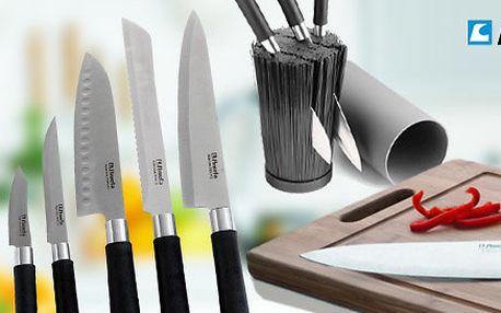 Kvalitní nože Amefa včetně držáku či prkénka
