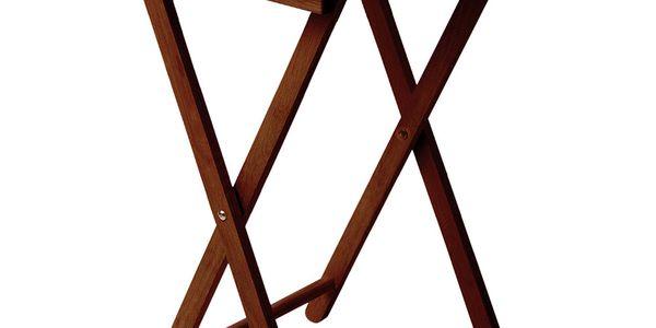 Odkládací stolek Mahagony z kaučukovníku