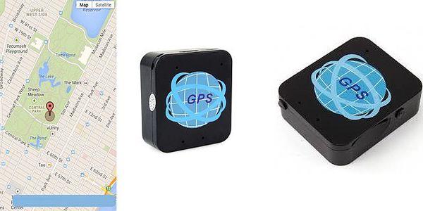 GSM lokátor TRACKER A8 vrátane odpočúvania okolí lokalizátoru s výdržou batérie 7 dní a SOS tlačidlom!