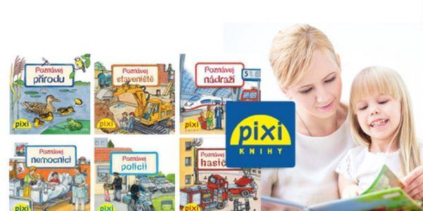 """Knižní série pro děti """"Novodobé encyklopedie"""" v originálních kapesních knížkách PIXI jen za 229 Kč včetně POŠTOVNÉHO! Cílem PIXI knížek je vzdělávat malé děti od 3 -7 let! Vysoká mobilita knížek díky kapesní velikosti a bohaté ilustrace!"""