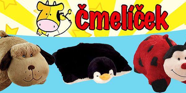 Roztomilý plyšový polštářek a zvířátko v jednom nebo kabelky s polštářkem