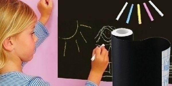 Samolepící tabule na zeď či skřín ! Super dárek který vaše děti zaručeně zabaví !
