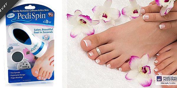 Přístroj na odstranění ztvrdlé kůže, který Vám poskytne profesionální péči o Vaše chodidla a postará se o veškerá problémová místa snadno a v pohodlí Vašeho domova. Je ideální pro kompletní domácí pedikúru - určen pro paty, palce a prsty na nohou.