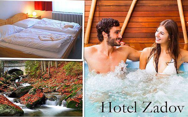 3denní wellness pobyt pro dva v hotelu Zadov***+ na Šumavě
