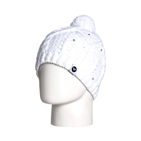 Roxy Zimní čepice Shooting Star Girl Beanie Bright White WTTBE054-WBB0