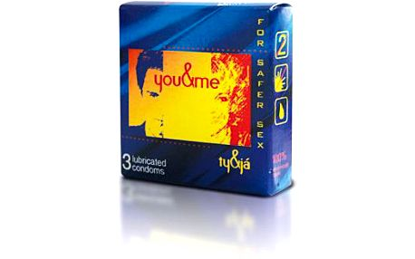 you&me lubricated - Ty a Já kondomy 3ks