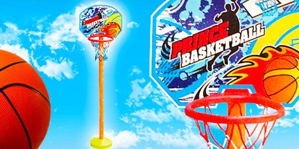 Malý přenosný basketbalový koš pro děti i pro odreagování v kanceláři