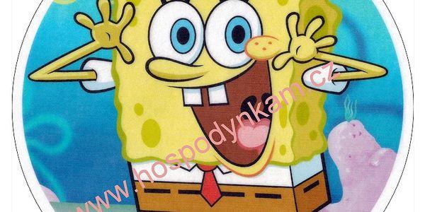 Jedlý papír Spongebob 1 (italská oplatka)