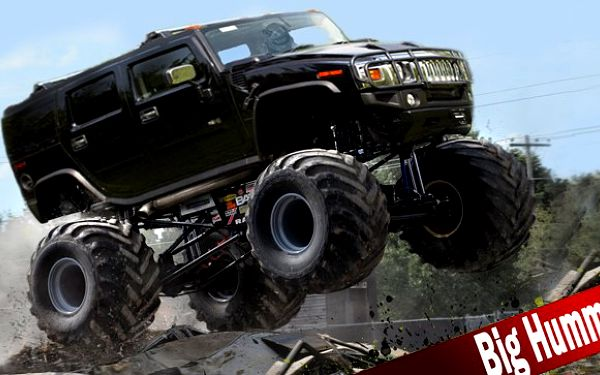 Exkluzivní jízda v Monster Truck Hummeru!