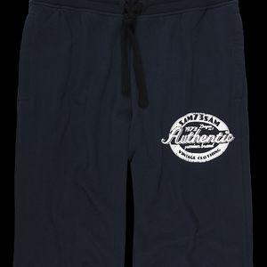 SAM 73 Pánské 3/4 kalhoty MS 169 240 - modrá tmavá