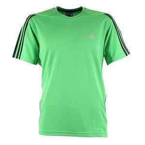 Pánské zelené tričko s krátkým rukávem Adidas