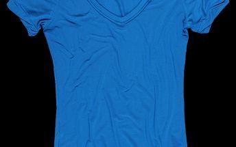 SAM 73 Dámské triko WT 452 220 - modrá jasná