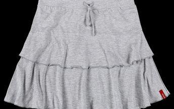 Dámská sukně SAM 73 WZA 85 401M šedý melír světlý