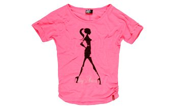 Dívčí triko SAM 73 GT 40 119 růžová neon