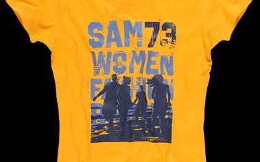 SAM 73 Dámské triko WT 456 306 - okrová