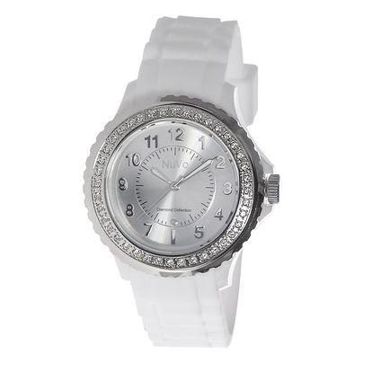 Bílé hodinky Nuvo zdobené Swarovski Elements