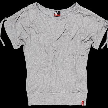 Dámské triko SAM 73 WT 460 401M šedý melír světlý