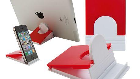 Skládací stojánek na telefon - červený a poštovné ZDARMA s dodáním do 3 dnů! - 9108863