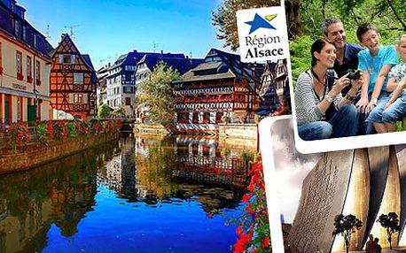 Štrasburk a Alsasko jako z pohádek bratří Grimmů