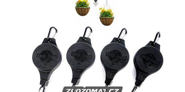 2x Svinovací držák na závěsné květináče!