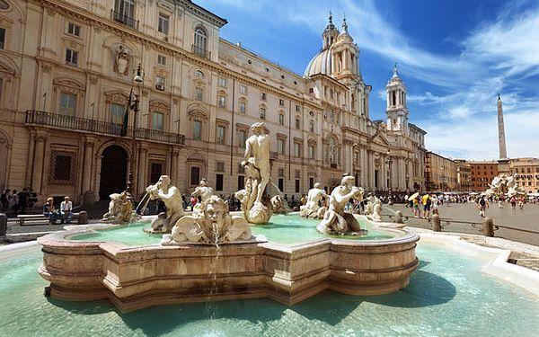 4denní prodloužený víkend v Římě v 3* hotelu ibis Roma Fiera se snídaní
