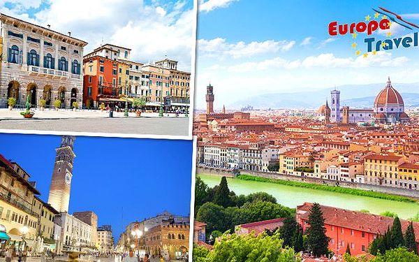 Čtyřdenní zájezd do Verony a Florencie pro 1 osobu