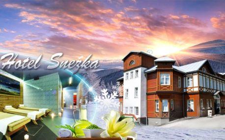 Jaro a léto s WELLNESS ve Špindlerově Mlýně, ve 4* Hotelu Sněžka! 3 nebo 5 DNÍ včetně bohatých snídaní, privátního Spa & Relax centra, zapůjčení koloběžek i jízdy na bobové dráze od 2599 Kč! Při koupi 2 voucherů NOC ZDARMA!
