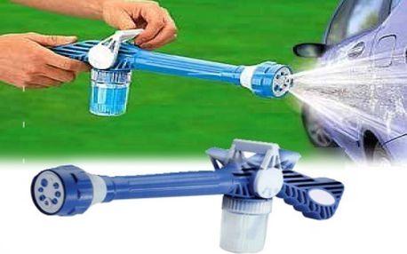 Vodní dělo multifunkční nástavec na hadici skvělý pomocník. Usnadní mnoho věcí, mytí aut, úklid zaléváni kytek atd