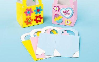 Mini dárkové tašky pastelové