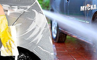 Precizní ruční mytí auta v Mercury centru