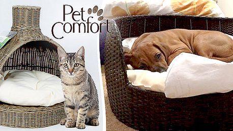 Luxusní pelíšky Pet Comfort pro kočky a psy