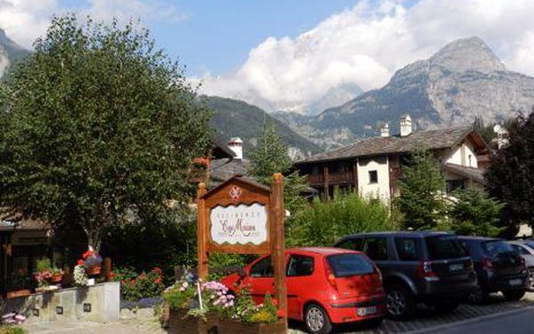 Itálie, oblast Valle d`Aosta, bez stravy, ubytování v 3* hotelu na 8 dní