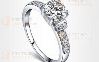 Romantický prstýnek s kamínkem a poštovné ZDARMA! - 9708965