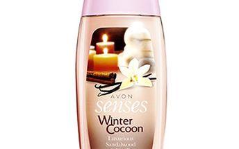 Avon Sprchový krém Winter Cocoon Senses (Luxurious Sandalwood & Vanilla Shower Créme) 250 ml