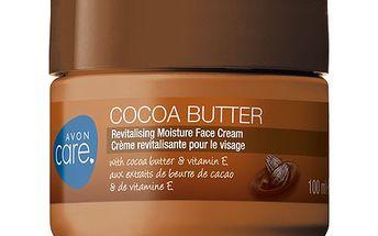 Avon Revitalizační hydratační pleťový krém s kakaovým máslem a vitamínem E Care 100 ml