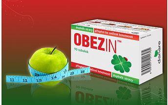 Přírodní doplňek stravy na redukci hmotnosti od českého výrobce! Obezin vytváří pocit nasycenosti a snižuje chuť k jídlu.