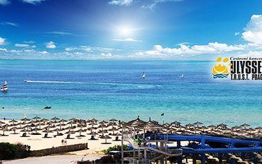 ALL INCLUSIVE Tunisko, LETECKY, v červnu za 10.990 Kč! Komfortní hotel President Club*** přímo u krásné široké PÍSEČNÉ PLÁŽE v tropické zahradě se třemi bazény!