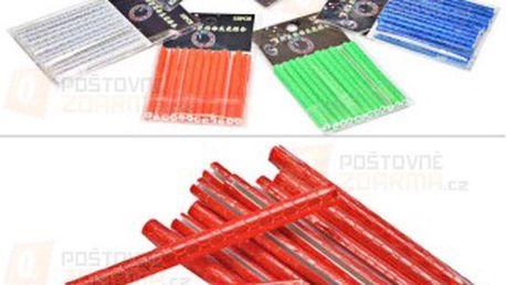 12 ks reflexních trubiček na výplet kola - 6 barev a poštovné ZDARMA! - 9608936