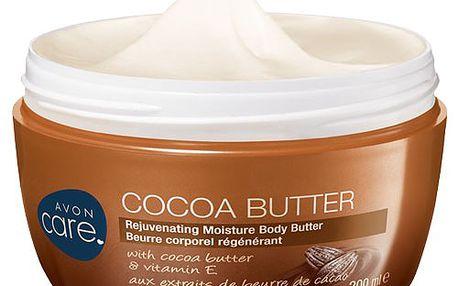 Avon Omlazující hydratační tělový krém s kakaovým máslem a vitamínem E Care 200 ml
