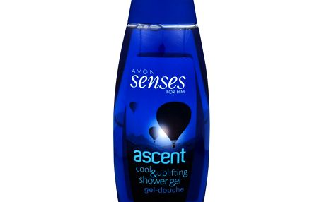 Avon Sprchový gel s ledovou citrusovou vůní Senses (Ascent) 500 ml