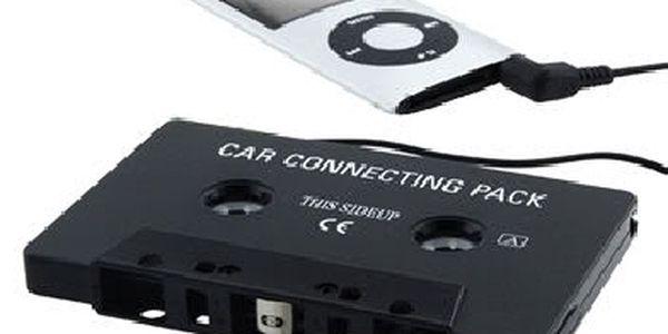 Kazetový MP3/CD adapter. Poslouchejte Vaše oblíbené MP3 ve Vašem autoradiu.
