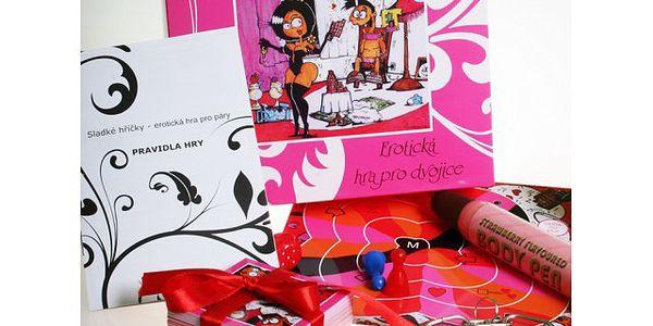 Sladké hříčky - erotická hra pro dospělé!