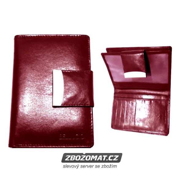 Kožená peněženka Bellugio - luxus a kvalita za rozumnou cenu!