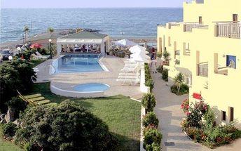 Letecky do Řecka s All Inclusive v hotelu Blue Sky Beach přímo u moře s krásným bazénem | Cestuj.cz