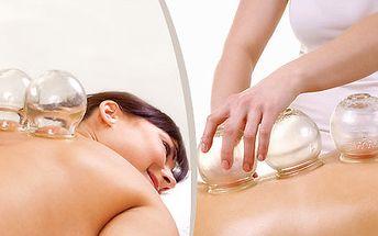 Udělejte něco pro své zdraví díky baňkové masáži